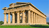 Veduta di Area Archeologica dei Templi di Paestum