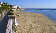 La spiaggia di Agnone