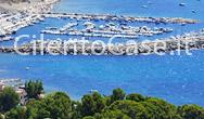 Veduta panoramica del porto di San Nicola a Mare a Montecorice