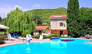 Veduta di Villa Armida