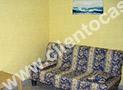 Il divano letto nel salone