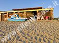La spiaggia attrezza a Velia di Ascea Marina vicinissima all'appartamento