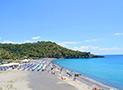 La spiaggia Lentiscelle a Marina di Camerota