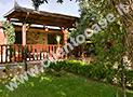L'ampio e grazioso giardino della casa vacanze