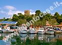 Il porto di Casal Velino Marina a 1 km dalla casa vacanze