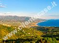 Il panorama del golfo di Velia