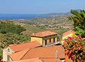 Panoramica Golfo di Velia dal terrazzo di Villa Albarosa