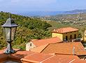 Panoramica Velia e Ascea Marina dal terrazzo di Villa Albarosa