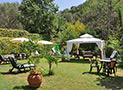 Il giardino arredato ad uso comune