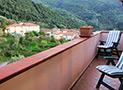 Il terrazzo con vista su Terradura