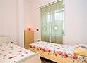 La camera da letto doppia