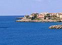 Veduta panoramica del borgo di Marina di Camerota