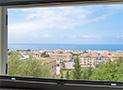 Vista di Ascea Marina e del mare
