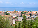 Veduta panoramica del mare di Ascea Marina