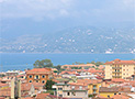 Panoramica di Velia e di Ascea Marina dalla sala da pranzo