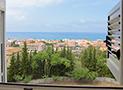 Vista del mare e di Ascea Marina dalla camera matrimoniale
