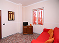 Il divano letto dell'appartamento Grazia