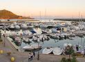 Foto del porto di Marina di Camerota