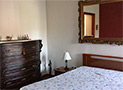 La camera da letto matrimoniale