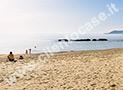 Uno scorcio della spiaggia del litorale di Acciaroli