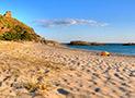 La spiaggia sabbiosa di Ascea Marina