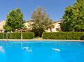 Una delle due piscine del residence