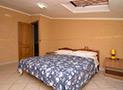 La camera da letto matrimoniale dell'appartamento Le Acacie Comfort