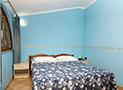 La seconda camera da letto matrimoniale dell'appartamento Le Acacie Comfort