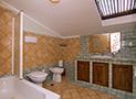 Il bagno dell'appartamento Le Acacie Comfort