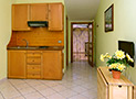 La cucina dell'appartamento Le Acacie Relax
