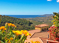 Panoramica Golfo di Velia dal terrazzo del Residence Albarosa