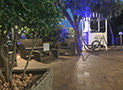 Zona relax di sera Residence Blue Marlin