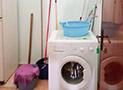 L'angolo lavanderia in comune con gli ospiti degli altri 2 appartamenti