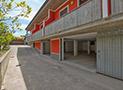 Garage per auto villa di Velia