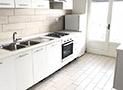 La cucina dell'appartamento Angelica