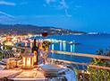 Sul Terrazzo attrezzato si potranno consumare i pasti godendo della magnifica vista del Golfo di Casal Velino
