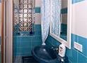 Il bagno con doccia