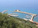 Suggestiva vista del porto turistico