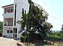 Gli esterni della villa in cui è presente l'appartamento Giulia