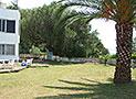 Il giardino ad uso comune degli ospiti della villa