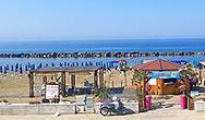 Veduta di Blue Sea