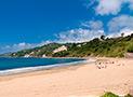 La spiaggia di Casal Velino Marina raggiungibile a piedi dall'alloggio