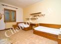 Camera da letto con 2+2 posti letto