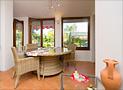 Il salone-soggiorno di Casa Elvira