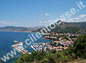 Un'immagine della costa di Castellabate