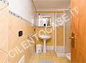 Uno dei 3 bagni delle 3 camere