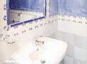 Il bagno dell'appartamento Circe