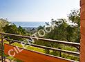 Il terrazzo dell'appartamento Zenone con fantastica vista sul Golfo di Velia