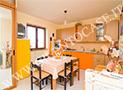 La cucina attrezzata dell'appartamento 5 posti