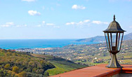 Veduta di Villa Albarosa